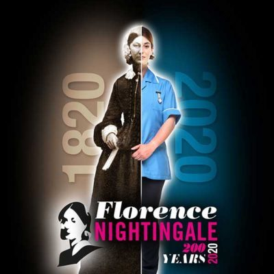 florence nightingale and a modern nurse