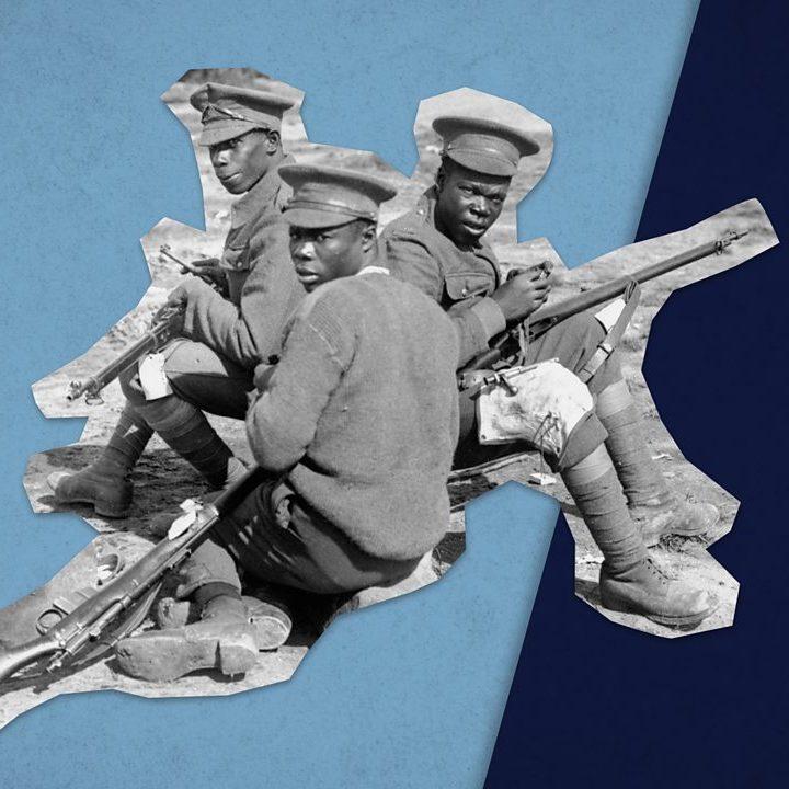 black soldiers in world war one
